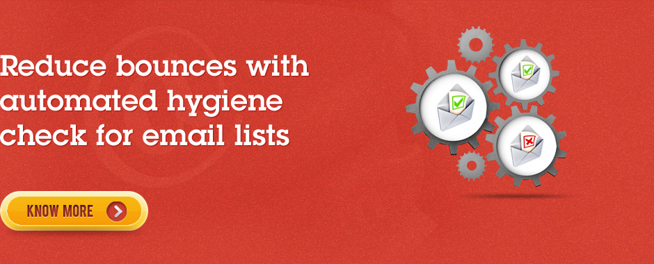 Reduce bounces with automated hygiene check for email lists
