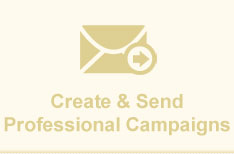 Create & send professional campaigns